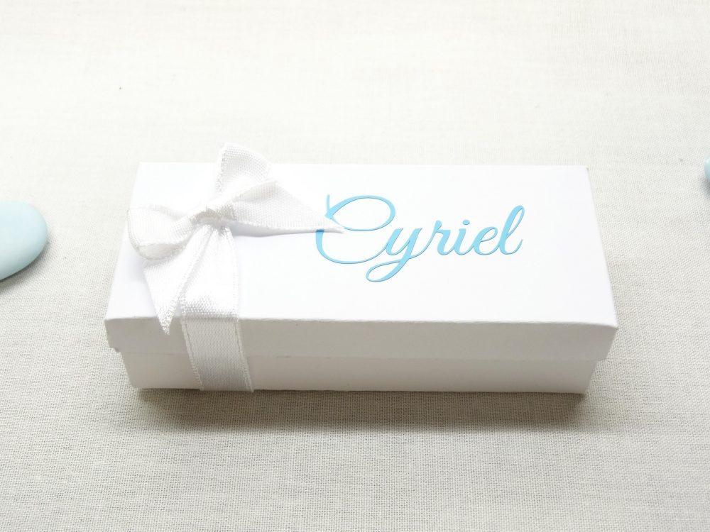 Langwerpig doosje met deksel - Cyriel