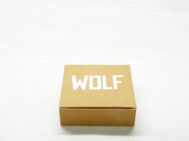 plat doosje met naam - Wolf 1