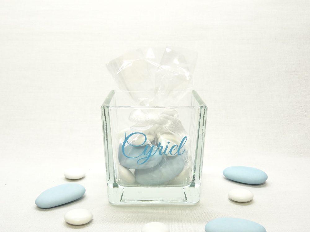 Glazen kaarshouder - Cyriel