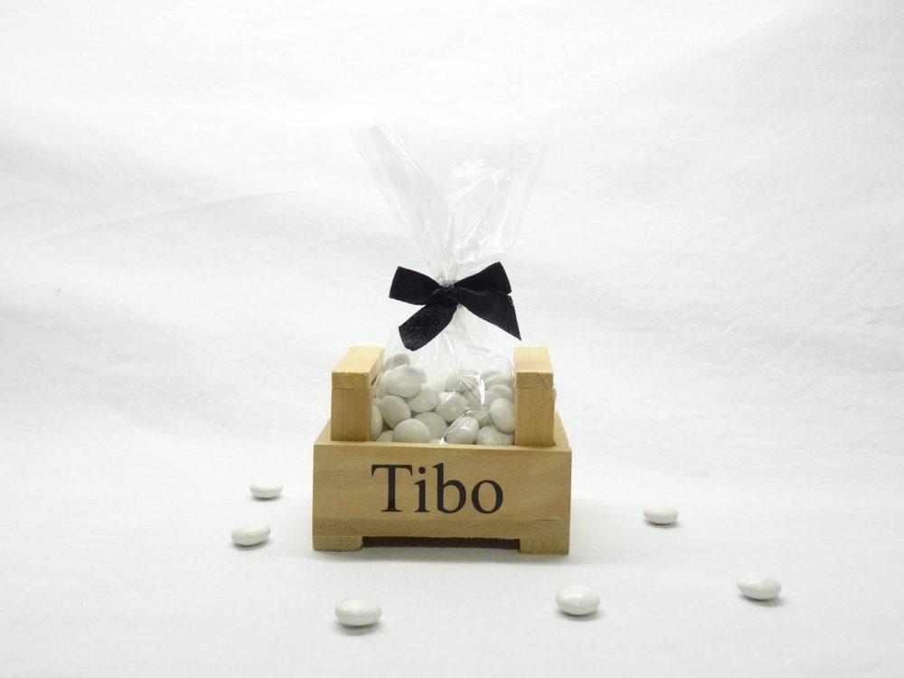 Snoepzakje in kistje Tibo