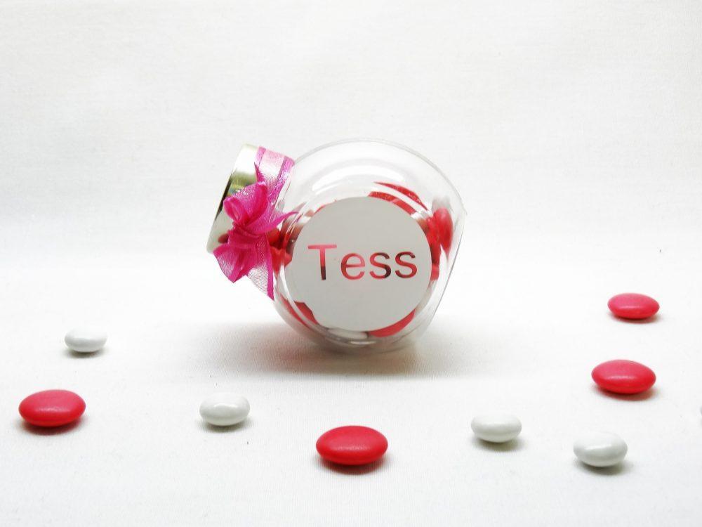 Snoeppot plexi - Tess