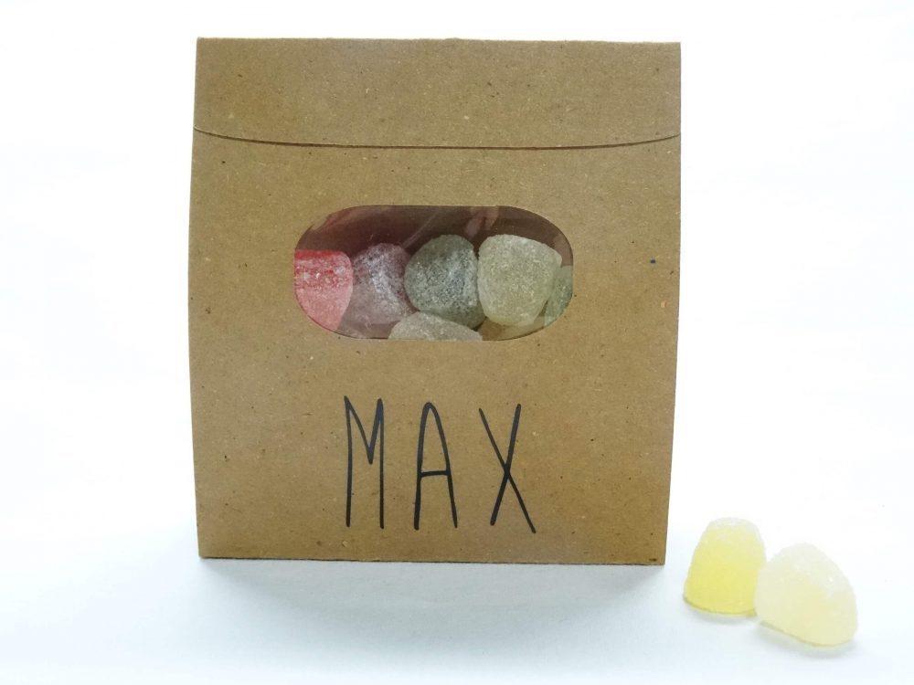 Snoepzak met wikkel- Max