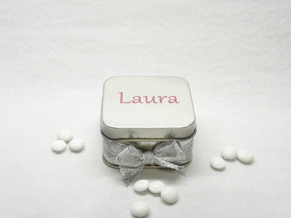 Alu doosje vierkant - Laura