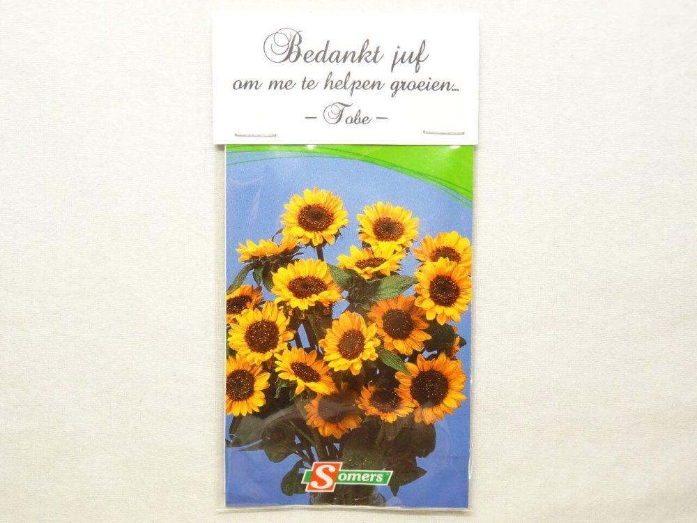bloemenzaadjes in zakje 1