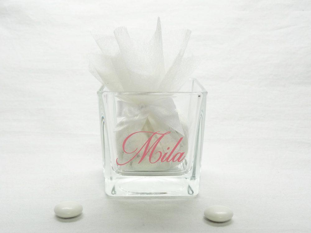glazen kaarshouder - Mila 1