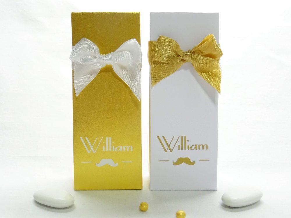 Doopsuikerdoosjes hoog - William