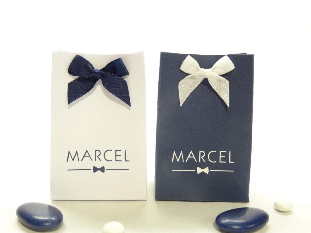 Kartonenn tasjes - Marcel