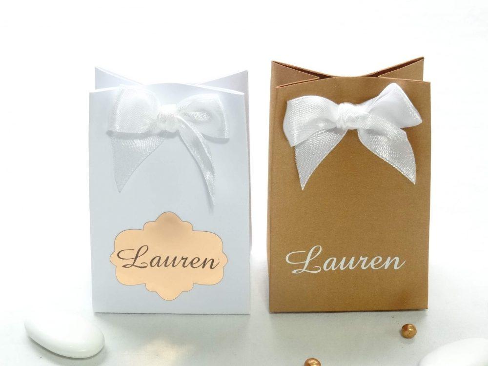 Kartonnen tasje - Lauren