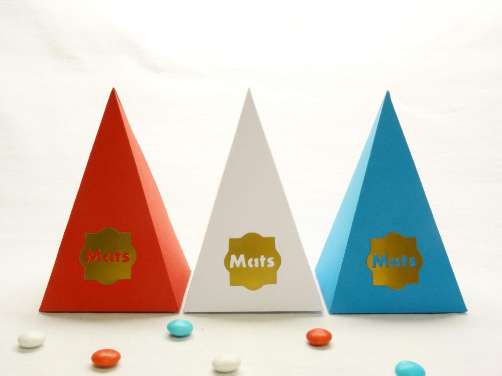 Piramidedoosje - Mats