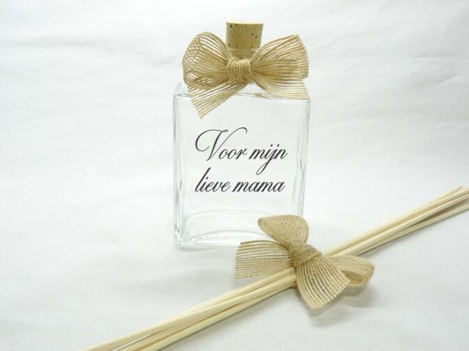 Flesje huisparfum voor mijn lieve mama