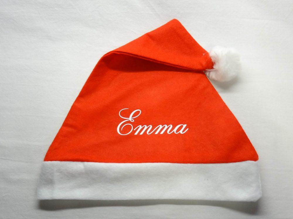 Kerstmuts met naam 1